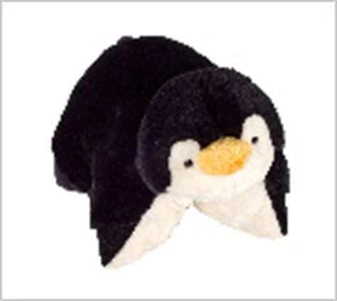 penguin pillow pet playful penguin cuddly toddlers pillow and pet