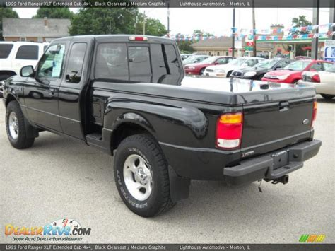 1999 ford ranger xlt extended cab 4x4 black clearcoat medium graphite photo 5 dealerrevs
