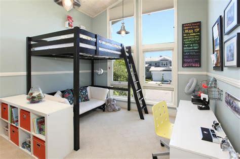 chambre fille avec lit mezzanine lit mezzanine pour une chambre d ado originale design feria