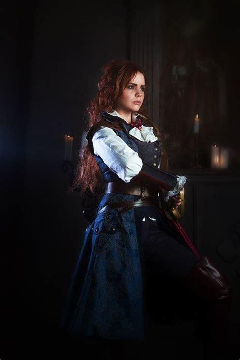 assassin de la ntm assassin s creed unity elise 201 lise de la serre handmade blue costume craft