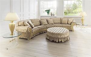 vintage brown sectional curved shaped sofa design ideas With round sectional sofa decorating ideas