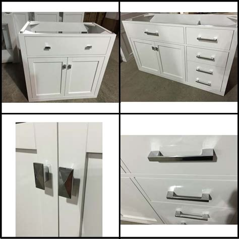 High Quality Bathroom Vanity Cabinets by 40inch White Color Wood Bath Vanity Cabinets With High