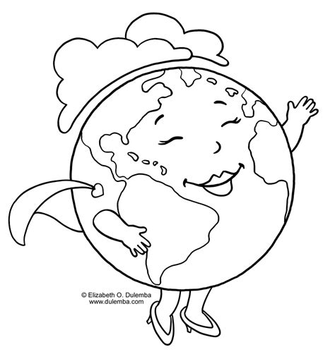 Coloring Earth by Earth Coloring Pages To And Print For Free