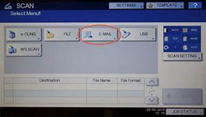 scanning documents to email information technology With scan and send documents