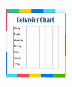 daily behavior chart templates 6 free pdf documents With behavior charts for preschoolers template
