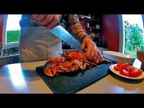 comment cuisiner un homard comment couper un homard