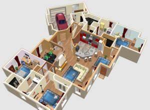 logiciels pour faire un plan de maison plan de maison With maison sweet home 3d 3 construction de la maison en 3d avec sweet home 3d