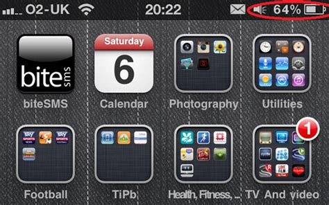 iphone battery percent how to turn on the battery percentage meter on your iphone