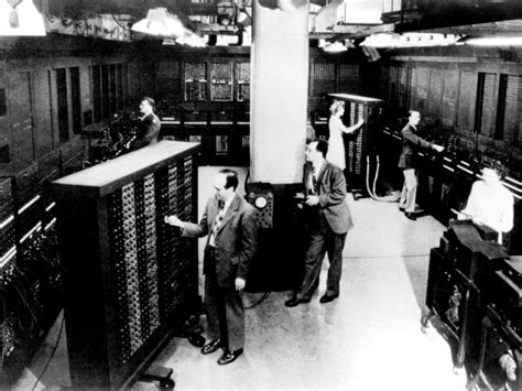 Eniac Panels Go On Display At Oklahoma Museum