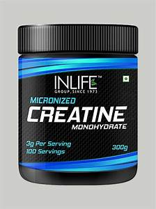 Neulife Store Inlife Micronized Creatine Monohydrate Supplement 300 Grams