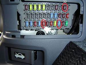 2005 Honda Accord Fuse Box