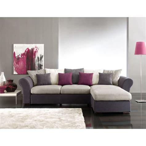 canapé d angle avec coussin deco salon avec canape gris meilleures images d