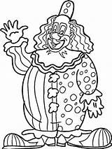 Clown Coloring Pages Printable Ausmalbilder Drawing Zum Ausdrucken Killer Krusty Rodeo Kleurplaten Clowns Adult Print Circus Scary Great Getcolorings Sheets sketch template