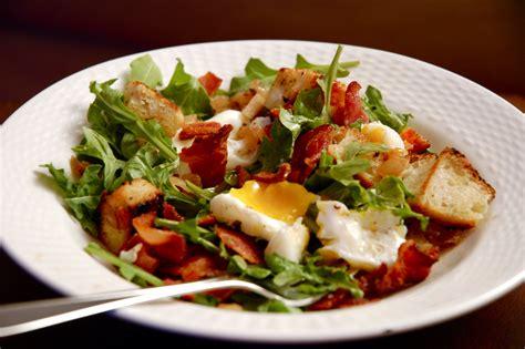 Pocher En Cuisine - salade lyonnaise recettes cookeo