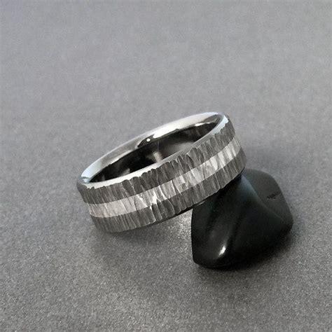 mens titanium rings ideas  pinterest mens