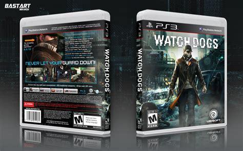 Watchdogs Playstation 3 Box Art Cover By Bastart