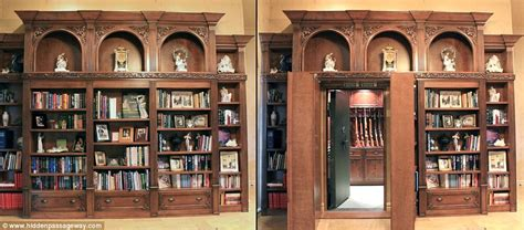 Bookcase Gun Safe by Real Panic Rooms For The Rich And