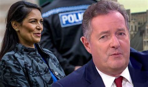 Piers Morgan: GMB host hits out at Home Secretary Priti ...
