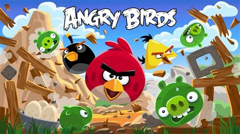 Top Hd Wallpapers Angry Birds Wallpapers