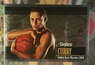 1 2009-10 PANINI NBA STICKERS #189 PTT ROOKIE RC STEPHEN STEPH CURRY WARRIORS