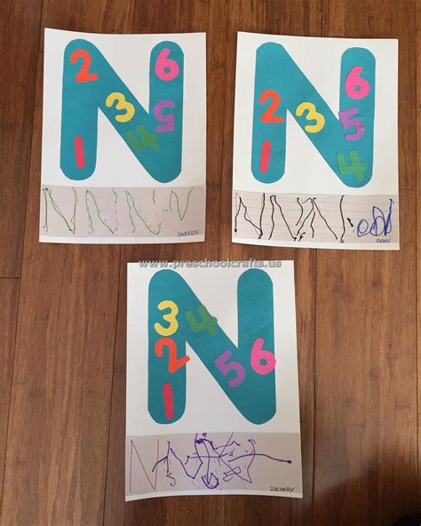 letter n preschool craft letter n crafts for preschool enjoyable preschool crafts 507