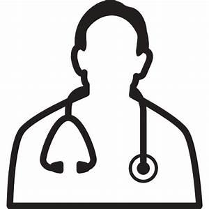Icono Medico,md,medico,medico,proveedor,estetoscopio ...