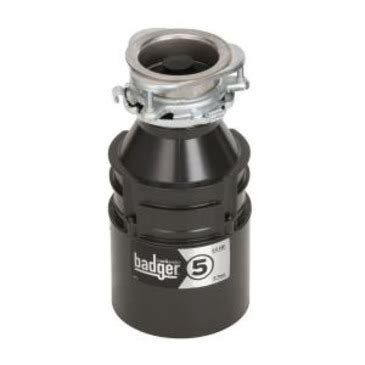 badger 1 2 hp garbage disposal insinkerator badger 5 badger 5 1 2 horsepower garbage 9073