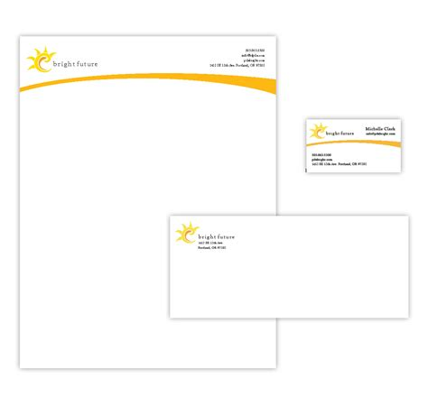new home interior design ideas letterhead envelopes custom designed and printed