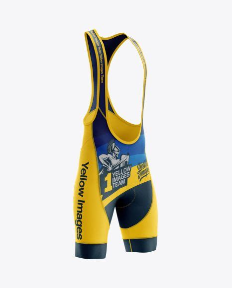 Don't find yourself tied up to a budget or a deadline, make easy images with placeit. Mens Cycling Bib Shorts (Right Half Side View) Jersey ...