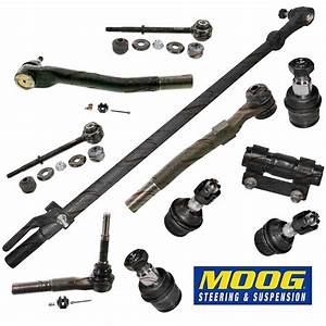 Steering Rebuild Kit Tie Rod End Drag Link  Moog  Fits
