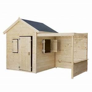 Maison Enfant Castorama : maisonnette en bois alpaga 708 castorama ~ Premium-room.com Idées de Décoration