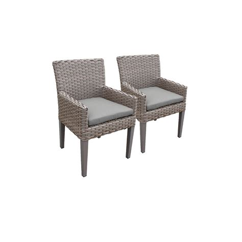 Patio Dining Chairs Set Of 6 by Tk Classics Oasis Rectangular Outdoor Patio Dining