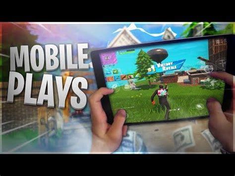 pro fortnite mobile player  wins fortnite