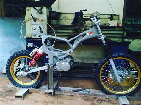 Cross X 150 And Yamaha Jupiter Z1 by 81 Motor Bebek Modifikasi Trail Mini Modifikasi Trail