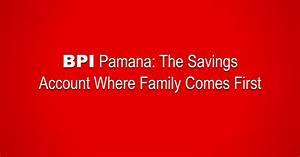 BPI Pamana Savings Account - Lloyd Labso, MD