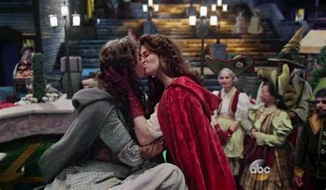 Once Upon A Time Same Sex Couple True Loves Kiss The Mary Sue
