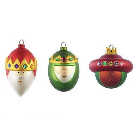 alessi set of 3 christmas baubles homeware from black by