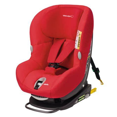 position siège bébé voiture siège auto milofix de bébé confort confort et sécurité