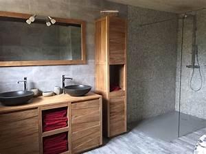 Baignoire Douche Italienne : salle de bain douche italienne et baignoire dt54 jornalagora ~ Melissatoandfro.com Idées de Décoration