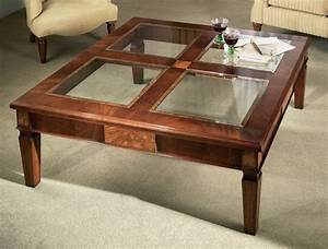 G735 glasstop coffee cfdac2af ed407349jpg 1000x759 for Wood coffee table with glass insert
