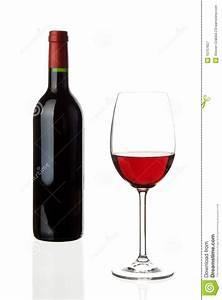 Weinglas Auf Flasche : weinglas mit flasche lizenzfreie stockfotografie bild 10757657 ~ Watch28wear.com Haus und Dekorationen