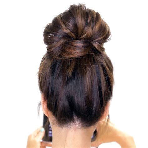3 Minute Bubble Messy Bun with Braids   Easy Lazy Hairstyles