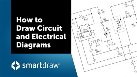 draw circuit  electrical diagrams  smartdraw