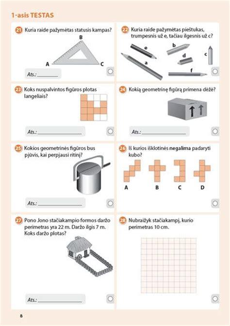 Matematikos testai 4 klasei pagal Standartizuotą ...