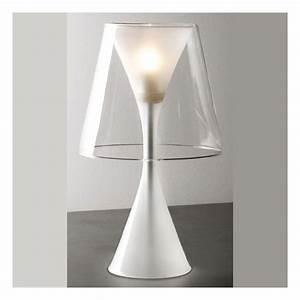 Lampe design dario medium verre millumine for Couleur qui va avec le gris 17 lampe design dario medium verre millumine