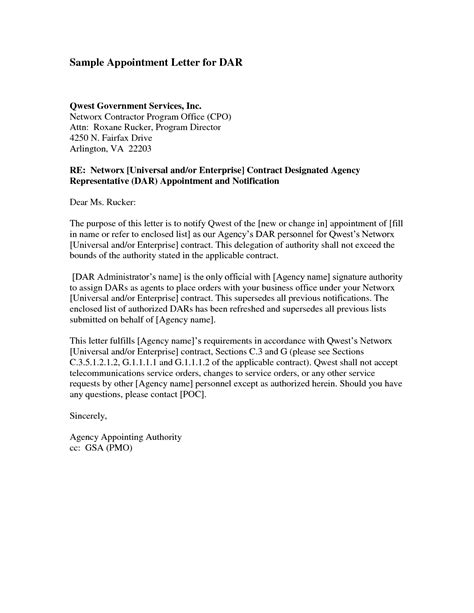 trustee appointment letter directortrustee  appointed