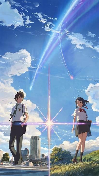 Phone Anime Wallpapers Couple Desktop Scenery Backgrounds