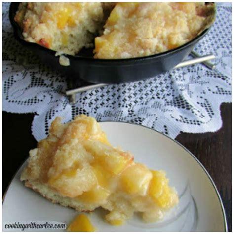 Peach Breakfast Cake Weekend Potluck Sweet Little