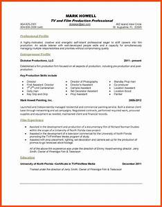 one page resume template program format With free 1 page resume template