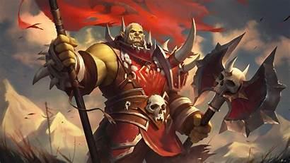 Warcraft Orc Saurfang Varok Battle Azeroth Horde